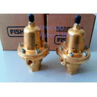 Buy cheap 1301F-3 Model Fisher Gas Pressure Regulator , Fisher Flow Control Valve product