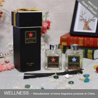 China Luxury Home Reed Diffuser 80ml 100ml 150ml With Clear Liquid Bottle on sale