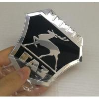 Buy cheap New model Custom Chrome plastic ABS car badges emblems and auto car logo metal emblems badge factory product
