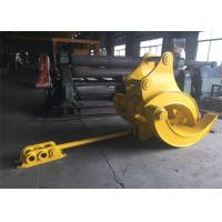 Buy cheap Mechanical Big Excavator Grapple For Komatsu PC340 and PC450 Heavy Duty product