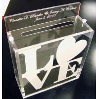 Buy cheap acrylic suggestion/donation/complaint boxes custom in China product