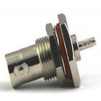 Buy cheap IP67 Waterproof 75ohm BNC Bulkhead Connector Nickel Plated For RG316 RG174 product