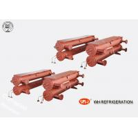 Buy cheap Industrial Shell And Tube Heat Exchanger , R410a Tube Stainless Steel Evaporator product