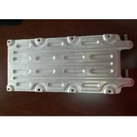 Buy cheap Aluminum Cooling Plate Aluminium Extruded Profiles For BEV Battery Pack Brazed And Blistered product