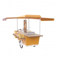 Buy cheap Street Tricycle Electric Vending Burger Food Cart product