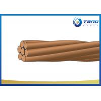 Buy cheap Standard Bare Copper Conductor For Overhead Electrical Distribution Lines from wholesalers