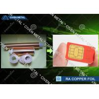 Buy cheap 18u * 520mm Soft  Annealed Rolled Copper Foil Roll Metal Model No. MGP-TR022015 product