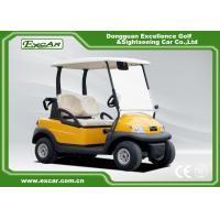 Buy cheap Electric Powered 2 Seats Golf Carts With Curtis Controller 48V 275A from wholesalers