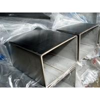 Buy cheap Rectangular Welded Stainless Steel Pipe Diameter 114mm - 1100mm 06 cr19ni10 product