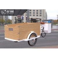 Buy cheap Box Structure Dutch Style Cargo Bike Anti Rust Electric Cargo Tricycle product