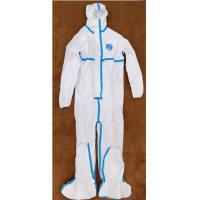 Buy cheap Unisex Non Woven Medical Isolation Gowns No Stimulus Personal Protection Use product