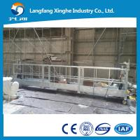 Buy cheap Mobile hanging scaffolding , zlp series suspended working platform , curtain wall painting gondola from wholesalers