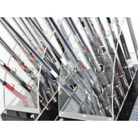 Buy cheap 12 clubs 2 row acrylic clear golf club display stand product