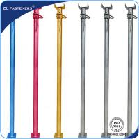 Buy cheap 4.74kg--30kg Adjustable Steel Props / Scaffolding Prop Jack For Formwork Supporting product