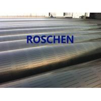 Buy cheap Slotted Pipe , Carbon Steel Tube , Oil Screen Tube Control Sand Coring Drilling product