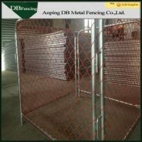 Buy cheap Movable Temporary Chain Link Fence For Traffic Control And Crowd Control product