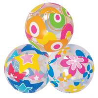 Buy cheap 3pcs Lovely Cute Sea Creature Clear Beach Ball Lively Print Beach Ball from wholesalers