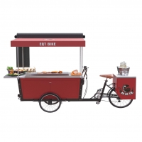 Buy cheap Hot Dog Street Vending BBQ Electric Tricycle Food Cart product