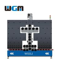 Buy cheap 10KW Glass Processing Machines , Glass Loading Table PLC Control System product