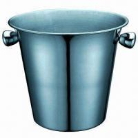 Buy cheap Stainless Steel Ice Bucket with 2800ml Capacity product