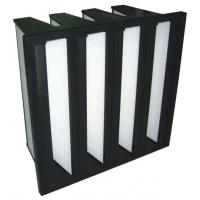 Buy cheap V Type HEPA Filter with ABS Frame from wholesalers