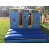Buy cheap Inflatable obstacle for exercise kids inflatable obstacle commercial inflatable obstacle for kids product