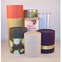 Buy cheap 157g Coated Paper Cardboard Packaging Tubes For Jewelry , Mat / Glossy Lamination product
