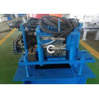 Buy cheap Roller Shutter Door Roll Forming Machine , Guide Rail Cold Forming Machine product