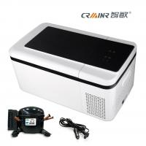 Buy cheap ABS Plastic Housig Mini Car Refrigerator 18L For Cars / Trucks / Vans product