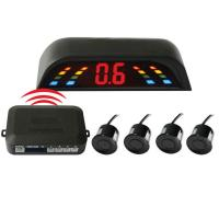 China Waterproof Wireless Car Parking Sensor System with LED Display Buzzer Alarm on sale