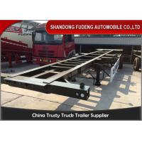 Buy cheap 40 Foot Chassis Container Trailer  With Twist Lock 30-80 Ton Payload product