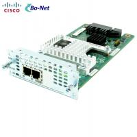 Buy cheap 2 Port Network Interface Used Cisco Modules NIM-2FXSP For ISR4000 Series Router product