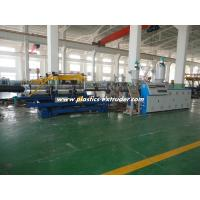 Buy cheap DWC HDPE Pipe Extruder Machine / Doble Wall Corrugated Drain Pipe Machine product