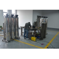 PLC Control 3TPH Water Plant RO System RO Mineral Water Plant for sale
