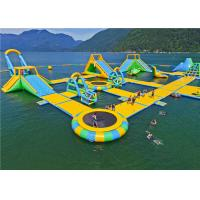 Buy cheap Attractivce Giant Inflatable Floating Water Park LW 48m*38m Eco Friendly For All Ages product