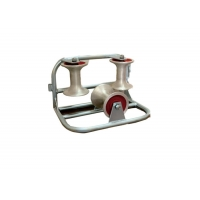 Buy cheap Transmission Aluminum Sheave Triple Corner Ground Roller from wholesalers