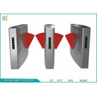 Buy quality Stainless Steel Retractable Flap Barrier Gate Security Access Control Automatic at wholesale prices