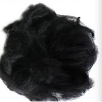 Buy cheap Black Reliance Polyester Staple Fibre 1.2D X 38MM For Non - Woven Fabric product
