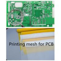 Buy cheap 70-72 Mesh Monofilament Polyester Screen Printing Mesh In PCB Printed Circuit Boards product