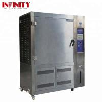 Buy cheap 500L UV Test Chamber Aging Lamps For Temperature Shining Strength Humidity product