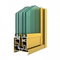 Buy cheap Multi Anodized Aluminium Door Profiles T3-T8 Annealing For Shower Room product