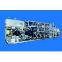 Buy cheap Electric Control Disposable Face Mask Making Machine With The Axial Flow Fan Cooling System product