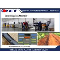 Buy cheap One Screw PE Inline Drip Irrigation Production Line With 1 Years Warranty product