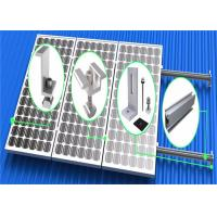 Buy cheap Vertical Flat Roof Mounting System High Anodized Aluminum Extrusion Frame product