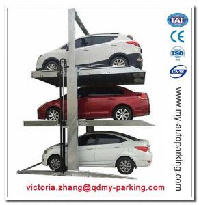 Triple Parking Lift Stacker 3 Level Parking Garage for Three Sedans for Sale