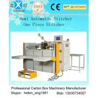 Buy cheap High Speed Semi Automatic Carton Folding and Stitching Machine 400nails/min from wholesalers