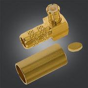 Buy cheap PTFE Insulators MCX Male Connector MCX Right Angle Plug 0 - 6GHz Frequency product