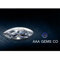 8mm x 4mm Colorless Marquise Moissanite 0.47ct To Decorate Rings