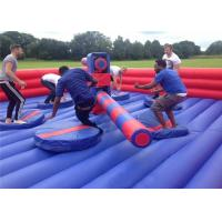 Buy cheap Commercial Inflatable Wipeout Course Fun Diameter 8m 0.55mm PVC Tarpaulin product