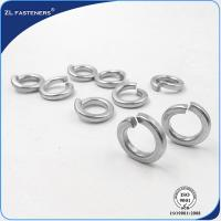 Buy cheap High Tension Stainless Steel Spring Washers Din 7980 OEM / ODM Available product